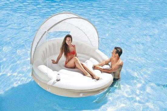 Intex Opblaasbaar Lounge eiland