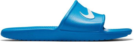 half off 7e78c 767a9 Nike Kawa Slippers Heren Slippers - Maat 46 - Mannen - blauwwit