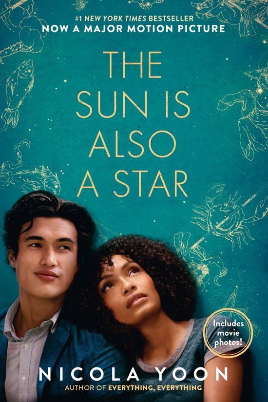 Boek cover The Sun Is Also a Star Movie Tie-In Edition van Nicola Yoon (Paperback)