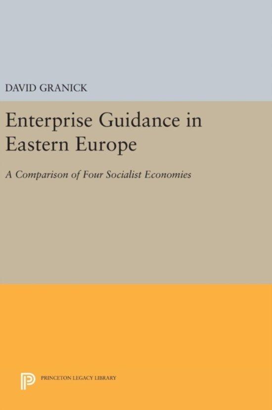 Enterprise Guidance in Eastern Europe