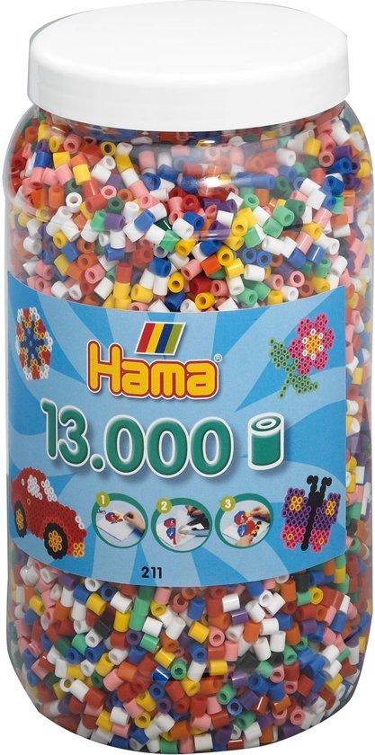 Hama Strijkkralen in een Ton - 13000 Stuks