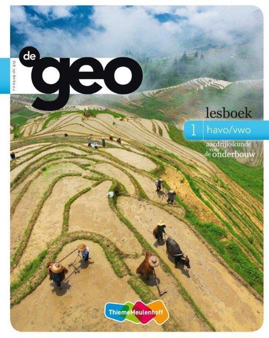 Aardrijkskunde voor de onderbouw / 1 Havo/vwo / deel lesboek