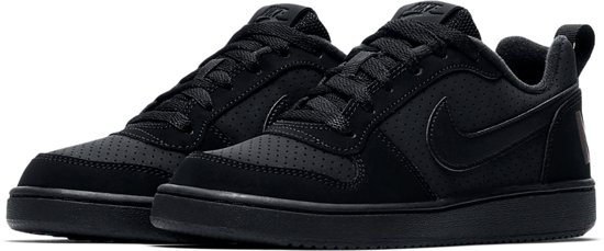 kids Court Zwart Borough Meisjes Maat 38 Nike Low Sneakers 1O4qXxwnSg