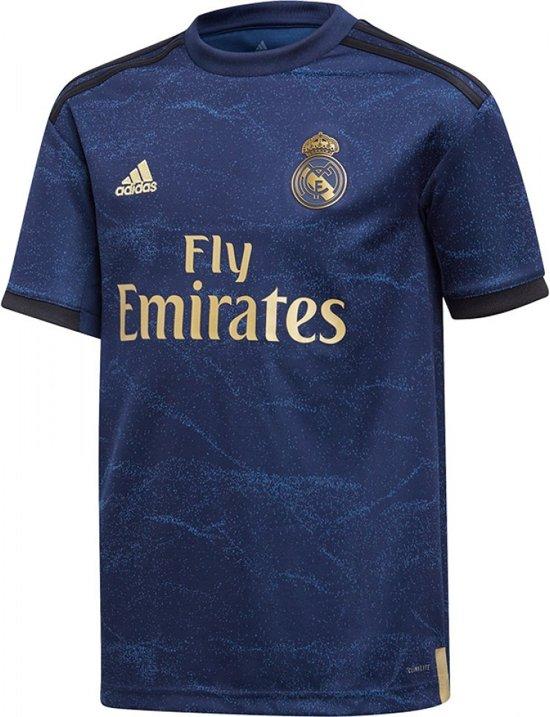 adidas Real Madrid Uitshirt 2019-2020 Junior - Marine-Multicolour - Maat 152