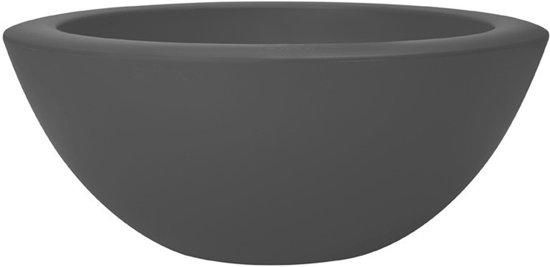 Elho pure soft bowl 50 x 20 cm - Antraciet