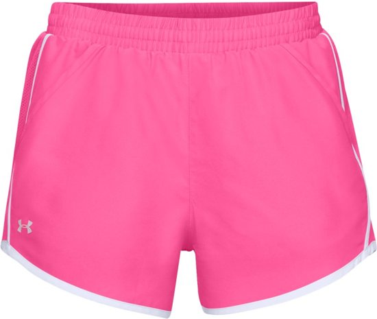 Under Armour HG Fly By Sportbroek Dames - Mojo Pink - Maat S