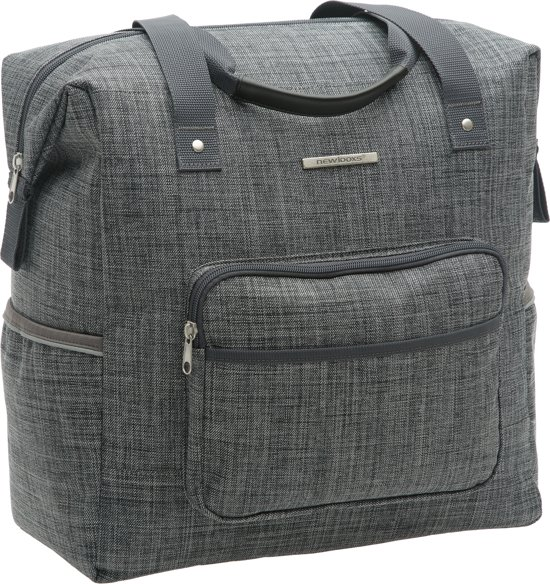 Bolcom New Looxs Camella Enkele Fietstas 245 L Jeans Grey
