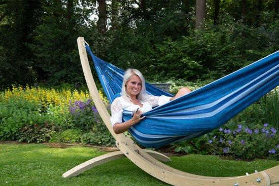 Hangmat met Standaard Tweepersoons 'Wood & Chill' Calm
