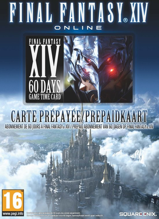 Final Fantasy XIV Pre-Paid Game Card (60 Dagen)