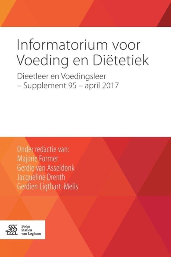 Informatorium voor voeding en diëtetiek Dieetleer en Voedingsleer Supplement 95 april 2017