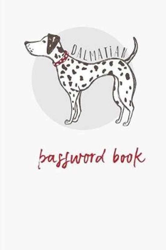 Dalmatian- Password Book
