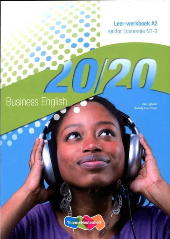 20 20 English A2 Economie N1 2 deel Leer werkboek