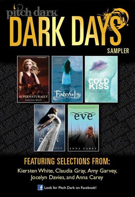 Pitch Dark: Dark Days of Fall Sampler