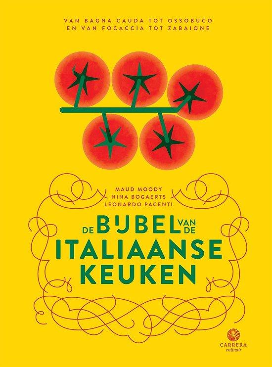 Boek cover De bijbel van de Italiaanse keuken van Dhr. Leonardo Pacenti (Onbekend)