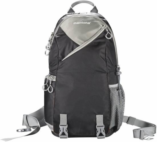mantona ElementsPro Outdoor Sling Bag zwart