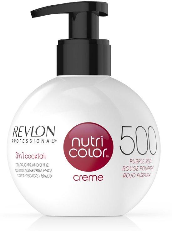 Revlon Nutri Color Creme fles 500 purple red 270ml