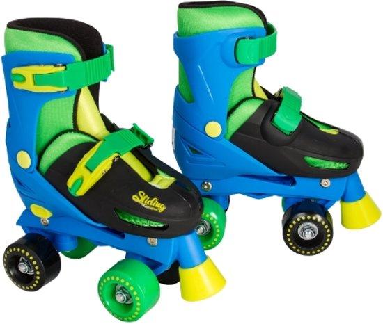 03a55ad5b40 Rollerskates Blauw - Imaginarium - Skates met 4 Wielen - Inclusief Tas -  Verstelbare Maat (