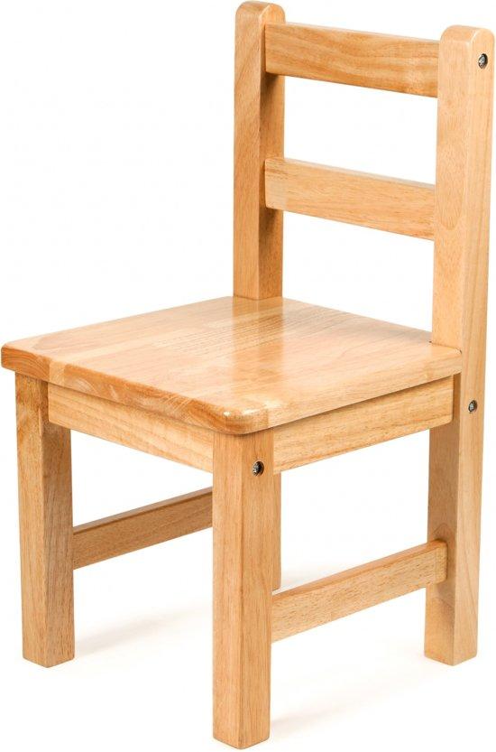 Tidlo klassieke houten stoel 31x30x56 cm for Stoel kind ikea