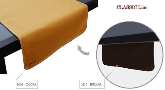 Pavelinni tafelloper Classic 45x120cm Brown/Okker