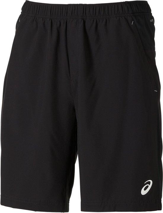 Asics Woven Sportshort  Sportbroek - Maat XL  - Mannen - zwart