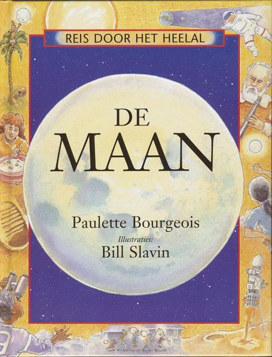 Cover van het boek 'De maan' van Paulette Bourgeois