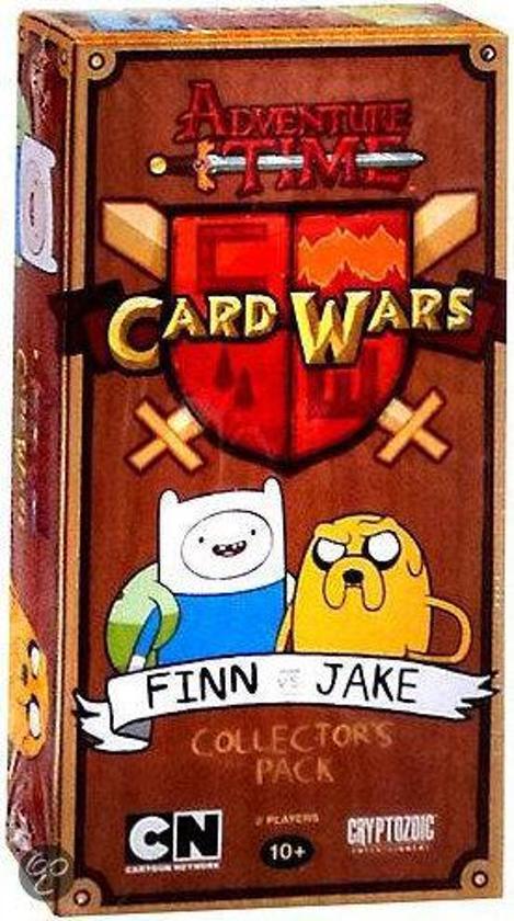 Afbeelding van het spel Adventure Time Card Wars: Finn vs. Jake