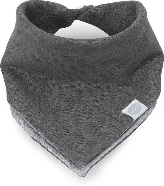 Jollein Duo Slab bandana hydrofiel grey