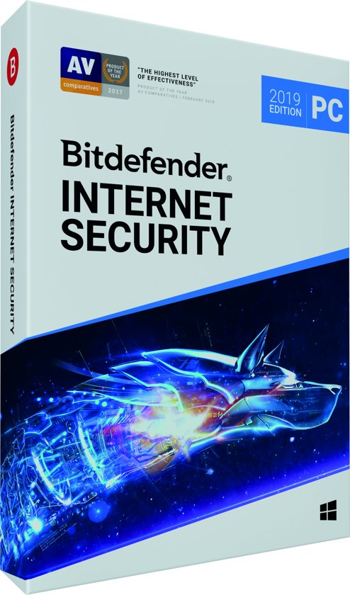 Bitdefender Internet Security 2019 - 1 Apparaat - 1 Jaar - Windows
