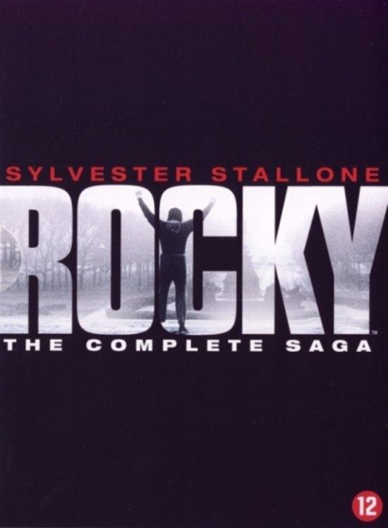 Cover van de film 'Rocky - The Complete Saga'