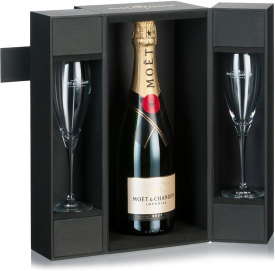7e62c06f567a5e Moët   Chandon Brut Impérial Champagne - 1 x 75 cl - in luxe koffer met