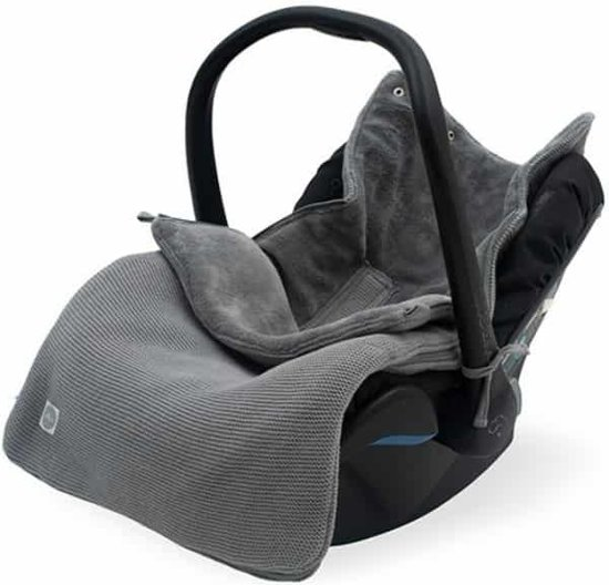 Excellent Comfortbag Groep 0 3 5 Punts Basic Knit Stone Grey Ncnpc Chair Design For Home Ncnpcorg
