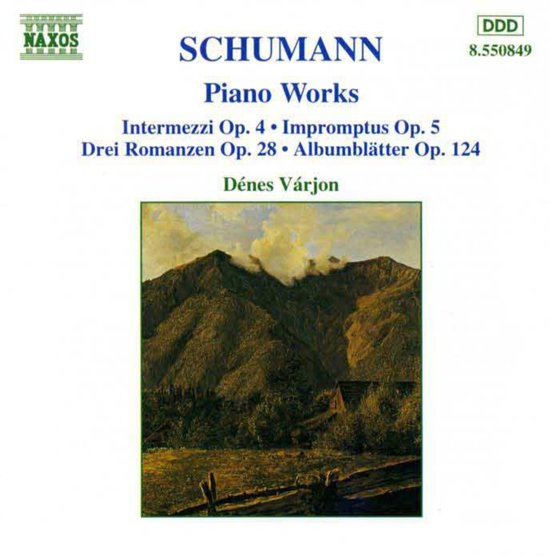 Schumann: Piano Works / Varjon