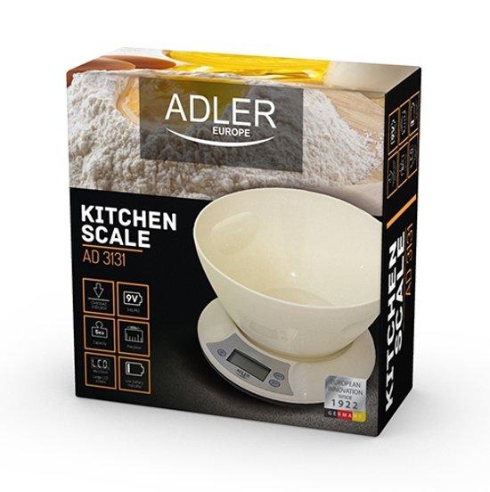 Adler AD 3131 elektronische keukenweegschaal