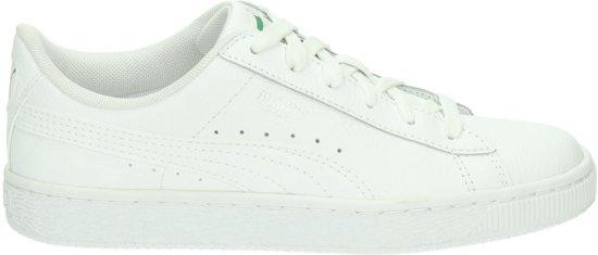 57bcae082dc Puma Meisjes Sneakers Basic Classic Lfs Kids - Wit - Maat 36