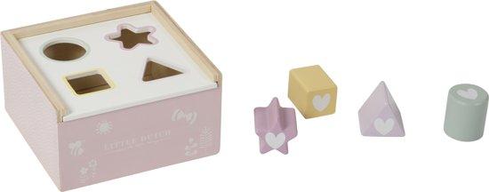 Afbeelding van Little Dutch Vormenstoof Adventure Pink speelgoed