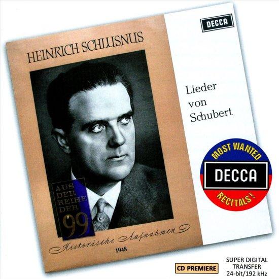 A Schubert Recital By Heinrich Schl