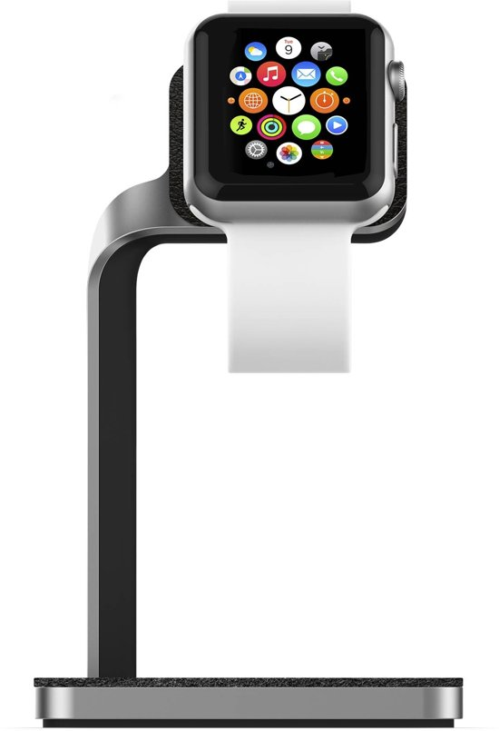 Mophie Dock for Apple Watch Silver/Black
