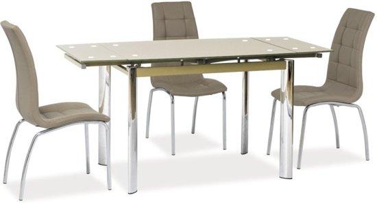 Uitschuifbare Tafel Tweedehands : Bol uitschuifbare tafel eduard beige