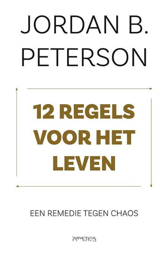 Boek cover 12 regels voor het leven van Jordan Peterson (Paperback)