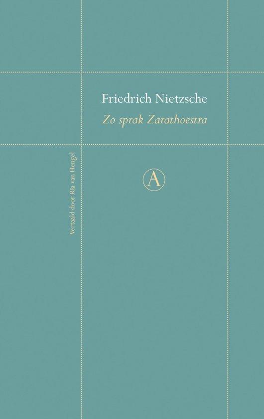 Bolcom Zo Sprak Zarathoestra Ebook Friedrich Nietzsche