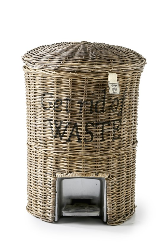 rivi ra maison rr get rid basket prullenbak rattan. Black Bedroom Furniture Sets. Home Design Ideas