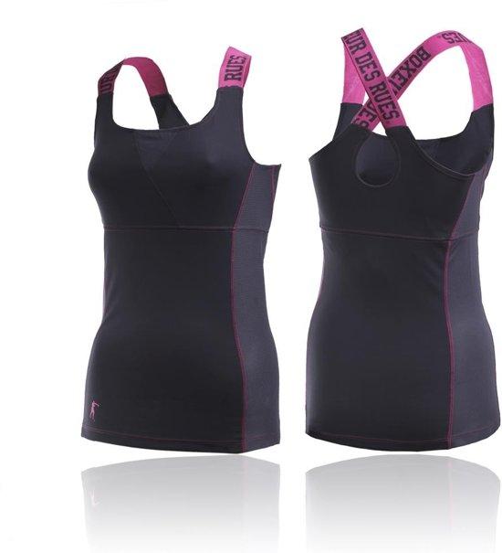 Boxeur des Rues Lady Sporty Grey Pink-L