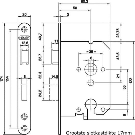 4Tecx Dag- En Nachtslot 1269/17U-50mm PC55