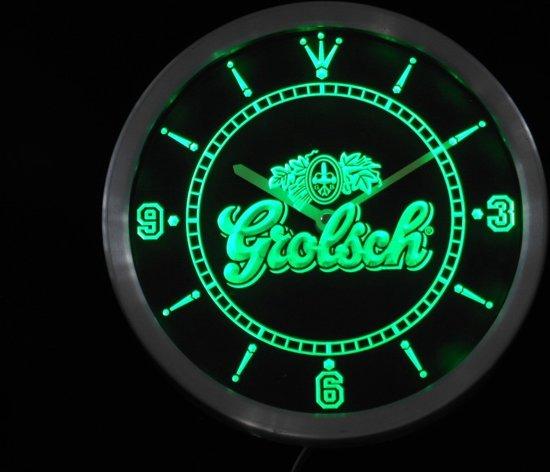 Uitgelezene bol.com | GROLSCH BEER NEON 3D KLOK MET LED JK-02