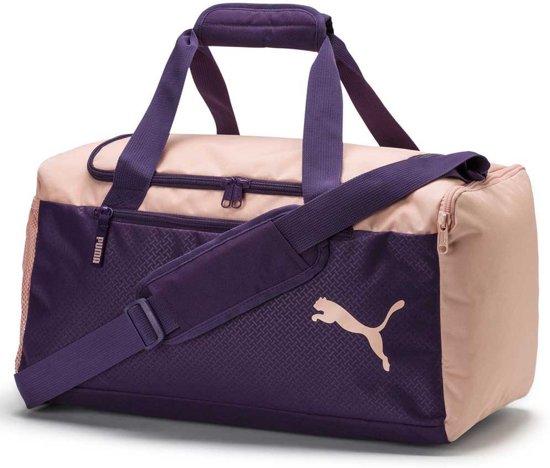 f7dfdef3de PUMA Fundamentals Sports Bag S Sporttas Unisex - Indigo   Peach Bud