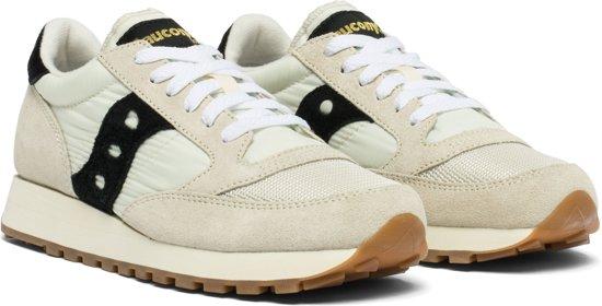 Saucony Jazz Original Vintage  Sneakers - Maat 40 - Vrouwen - creme/wit/zwart