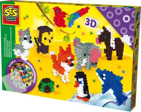 Bolcom Ses Beedz 3d Strijkkralen 3d Dieren Ses Speelgoed