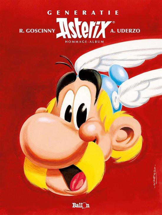 Boek cover Asterix generatie 00. hommage album 60 jaar asterix van Diverse
