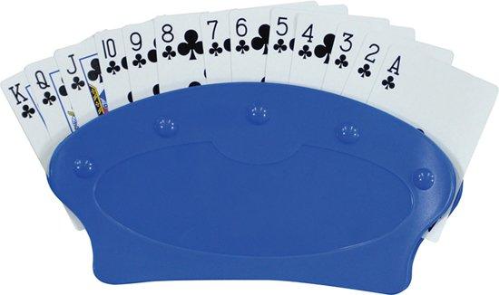 Speelkaarten houder - Blauw - Set van 2