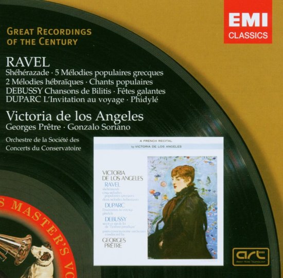 Ravel:Sheherazade/5 Melod. Pop
